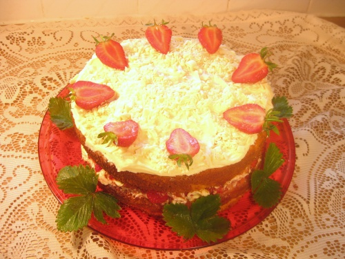 WHITE CHOCOLATE & 