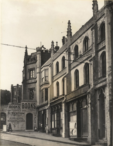 The view of Wykham Terrace looking North, 