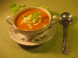 TOMATO, APPLE & CELERY SOUP recipe